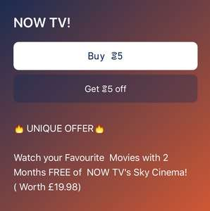 (AVAILABLE AGAIN) FREE 2 months Now Tv (movies) membership for EXISTING AND NEW users via SWEATCOIN (Download App)