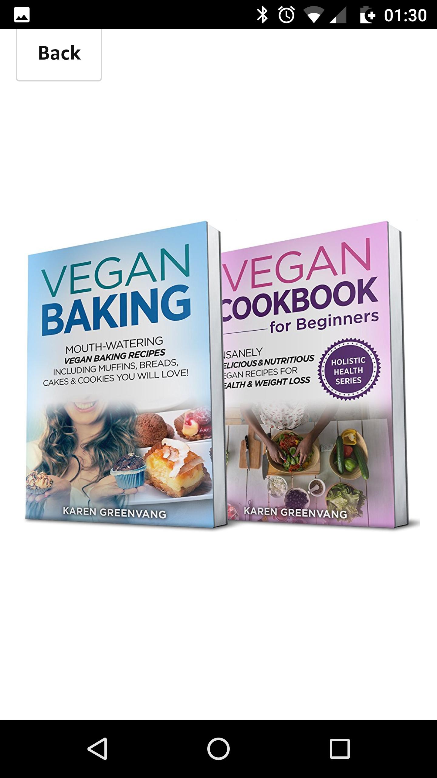 Free vegan diet books for beginners on Amazon