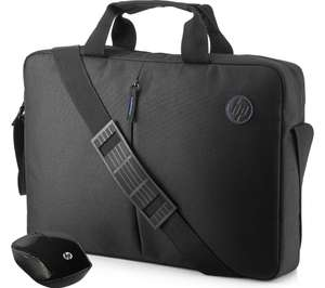"HP Value 15.6"" Laptop Case & Wireless Mouse - Black for £14.99 delivered @ Currys"