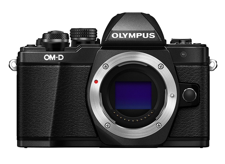 Olympus OM-D E-M10 Mark II Camera Body, Black £299 @ Amazon (£234 after cashback)