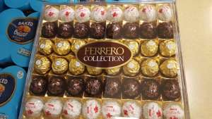 Ferrero Collection 48 pieces, 518g only £3 in-store @ Tesco Bramley.
