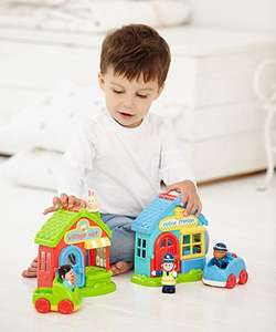 Up to 50% Off Bank Holiday Toy Sale at Mothercare / ELC eg Happyland Police Station was £18 now £9