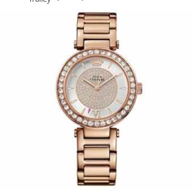 Juicy Couture Ladies Rose Stone Set Bracelet Watch £57.99 @ Argos