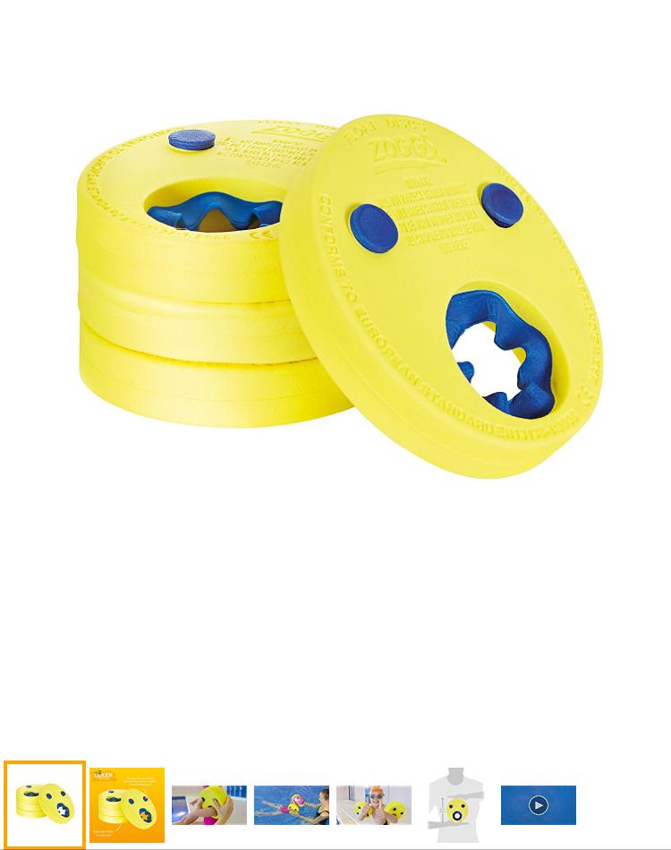 Kids zoggs swimming armbands £9.99 prime / £14.98 non prime Amazon
