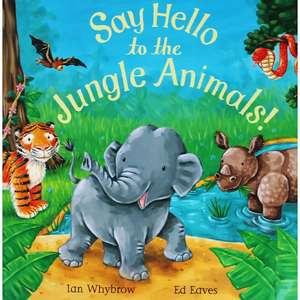Say Hello To The Jungle Animals £2 @ The Works discount offer