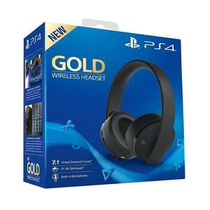 Sony PlayStation 4 Gold Wireless Headset £52.49 Delivered @ Monster-Shop