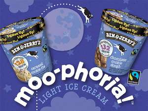Ben & Jerry's Moo-phoria low calorie ice cream £2.50 @ Sainsbury's