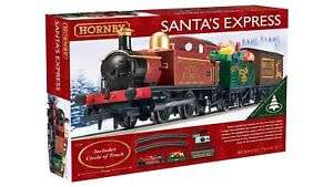 Hornby Santa Express R1185 00 gauge train set now £36.99 delivered @ eBay sold by Argos