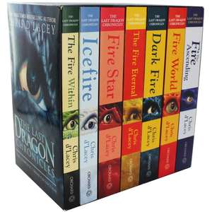 The Last Dragon Chronicles - The Complete 7 Book Box Set £15 @ The Works (free c&c / £2.99 delivery)