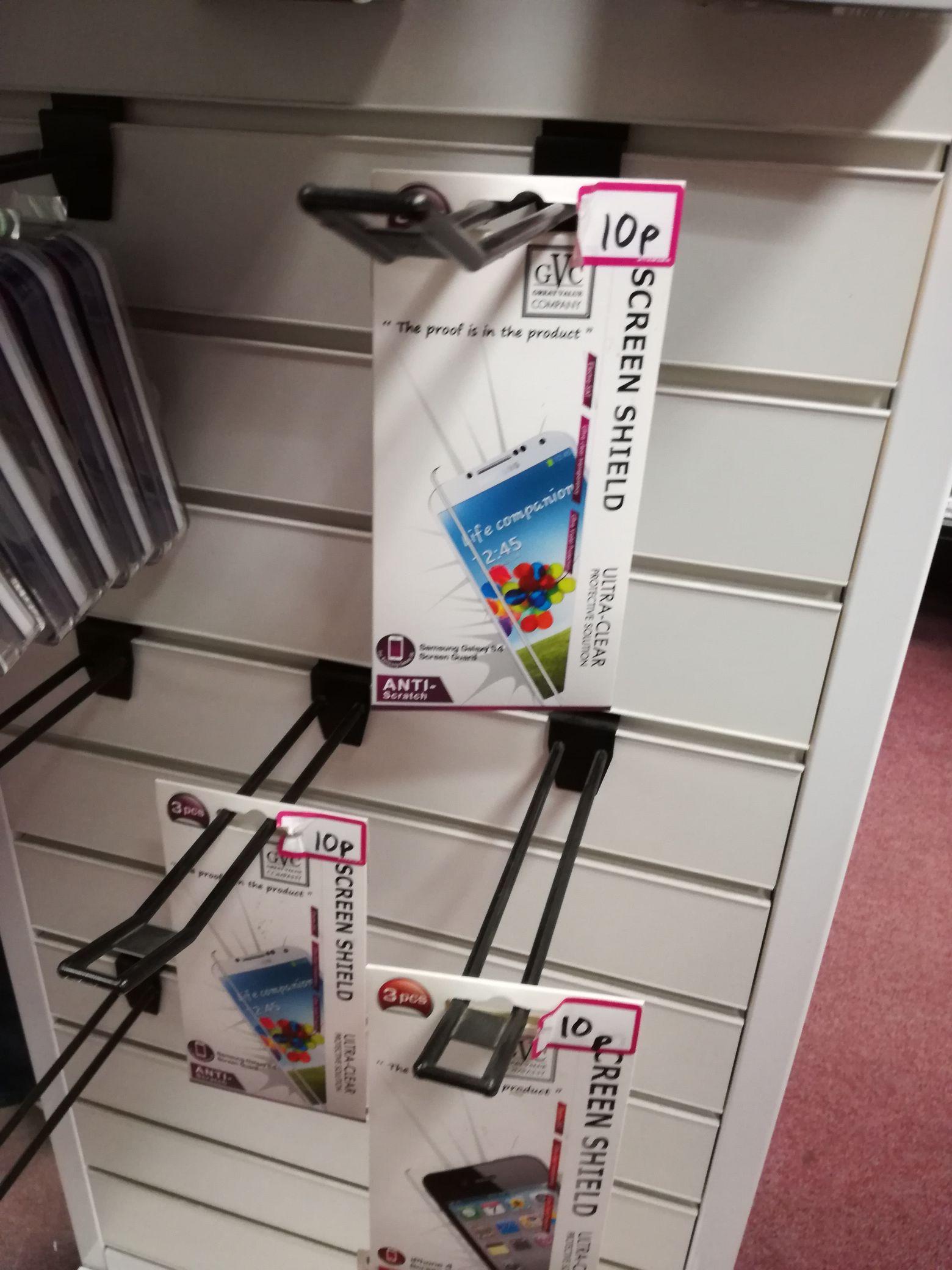 Various Screen Protectors - 10p at GAME instore (Skegness)