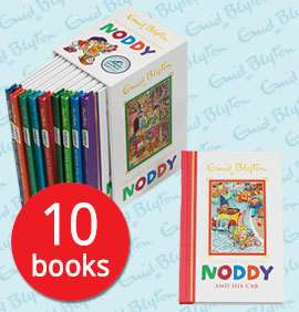 Noddy Collection - 10 Books Hardback Enid Blyton £15.99 + £2.95 Delivery @ The Book People