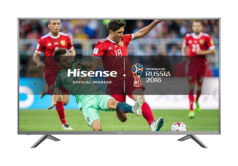 Hisense H65N5750UK 65-Inch 4K UHD Smart TV - Silver (2017 Model) - £689 @ Amazon