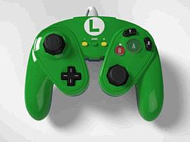 Nintendo Wii U Super Smash Bros. Luigi Gamecube controller £7 @ Game
