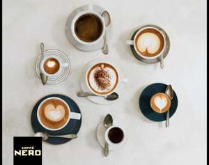 O2 Priority: Free Hot Drink from Caffe Nero