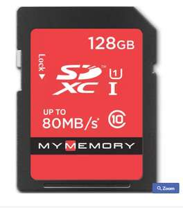 MyMemory 128GB UltimaPRO SD Card (SDXC) UHS-I U1 - 80MB/s £24.99 @ Mymemory