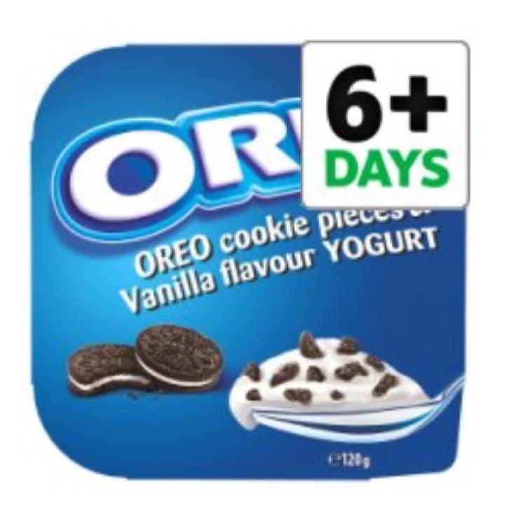 Oreo Vanilla Yogurt Cookie Crumble 120g - 45p at Tesco