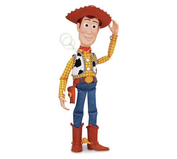 Talking Toy Story Dolls - Woody & Jess (was £49.99) now £21.99 / Buzz Lightyear now £25.99 each @ Argos