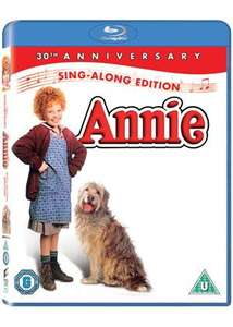 Annie 30th anniversary edition (Blu-Ray) £2.99 @ Base .com Free delivery