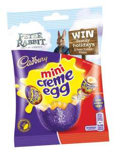 CREME EGG MINIS 89G (BOX OF 22) - £10.00 + £3.95 Delivery @ CadburyGiftsDirect (WAS £31.24)