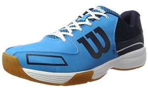 Wilson Unisex Adults Storm Tennis Shoes Size 3.5 £17.32 (Prime) £22.05 (Non Prime) @ Amazon