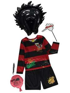 Dennis The Menace dressing up outfit & accessories ages 5-12 yrs £3 @ Asda