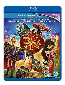 The Book Of Life (Blu-ray) £3.99 delivered @ The Entertainment Store / Ebay