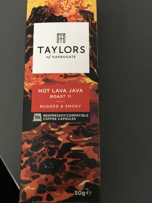Taylor's of Harrogate nespresso compatible coffee pods - £1 @ Poundland