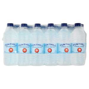 48 x 500ml Still Water £5 @ Iceland (just over 10p / bottle) (online & instore)