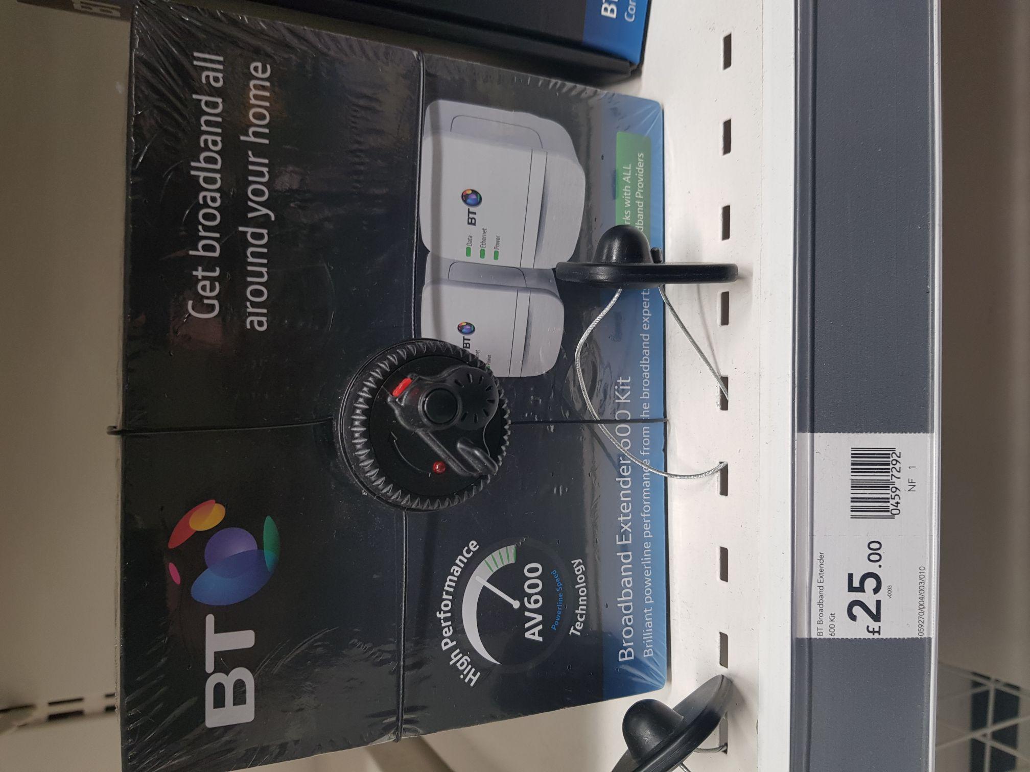 BT broadband extender 600 Kit. At Wilko Eastham London - £25