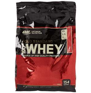 Optimum Nutrition Gold Standard Protein Powder - 4.54 KG - Amazon - £54.92