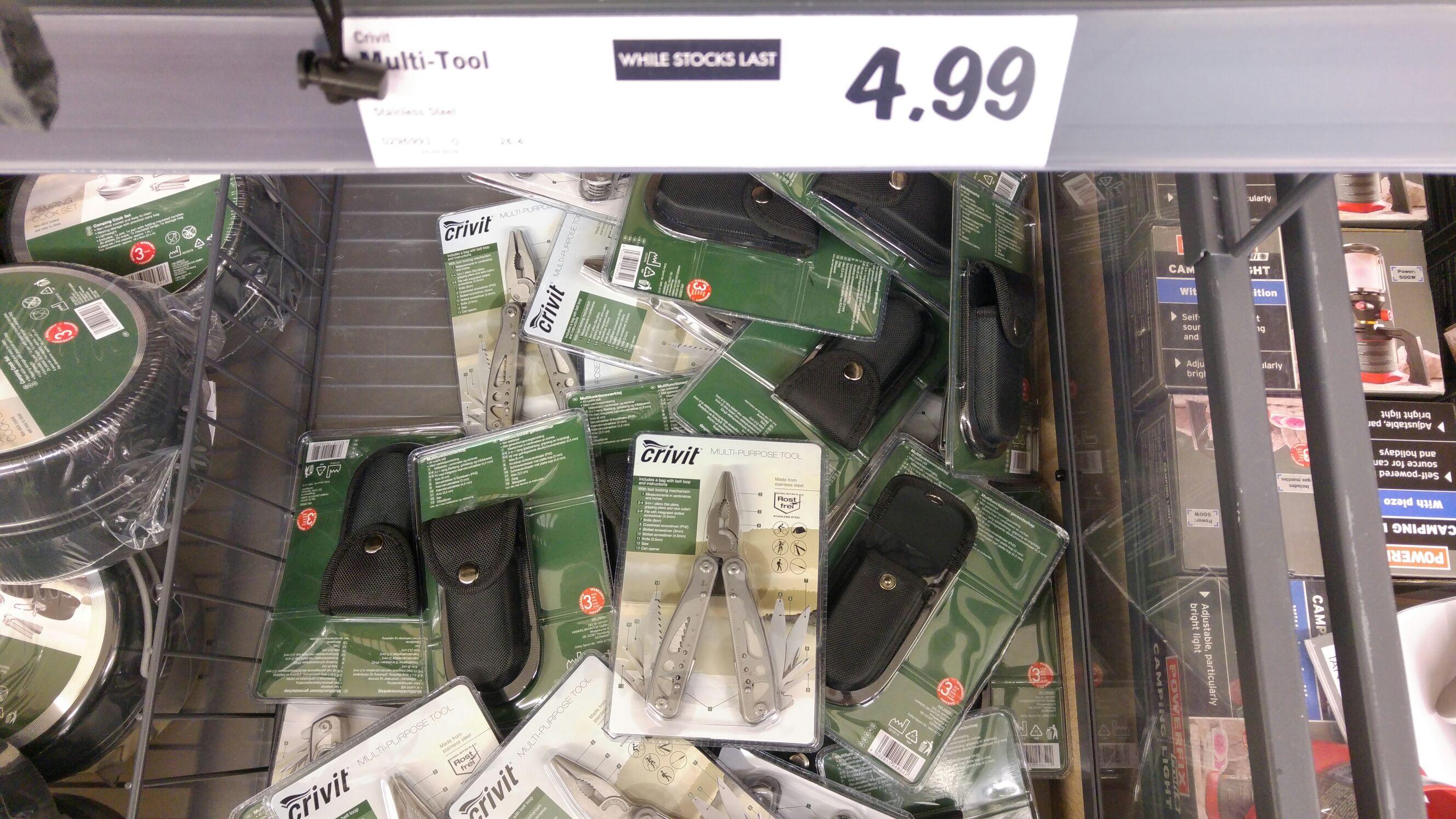 Multi-tool lidl instore £4.99
