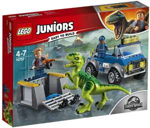 LEGO 10757 Jurassic World Raptor Rescue Truck Building Set 20% off RRP @amazon - £19.99 Prime / £24.38 non-Prime