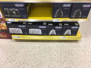 Delonghi Brillante range kettles and toasters RTC £25 @ Tesco Springhill