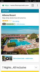 From Birmingham: (Not Half Term) May 7 Nights All Inclusive to Sicily Inc Flights, Luggage, Accommodation & Transfers £164pp @ Thomas Cook