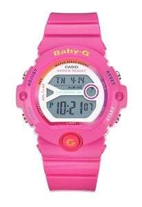 Baby-G Ladies' Pink Digital Sports Strap Watch £24.99 @ Argos ebay delivered