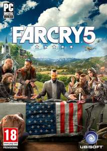 FARCRY 5 PC - uplay code £39.99 @ Amazon
