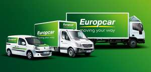 Europcar Van Hire FROM £23 - AVOID SCOTTISH ALCOHOL PRICE INCREASES!