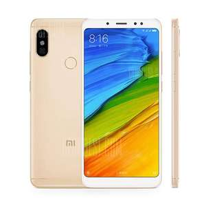 Xiaomi Redmi Note 5 4G Phablet Global Version - GOLDEN 4GB RAM 64GB ROM Dual Rear Cameras Bluetooth 5.0 Fingerprint Recognition 4000mAh Battery £165.43 @ gearbest