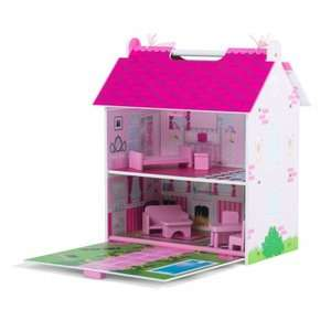 Plum Hove Children's Wooden Dolls House with Accessories £15 C+C w/code @ Debenhams