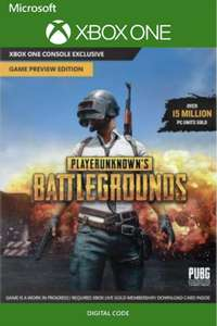 [Xbox One] PlayerUnknown's Battlegrounds (Plus AC: Unity)  - £11.39/£11.99 - CDKeys