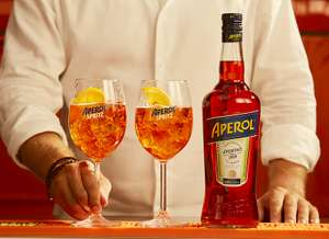 Aperol Aperitivo, 70 cl  £12 (Prime) / £16.75 (non Prime) at Amazon