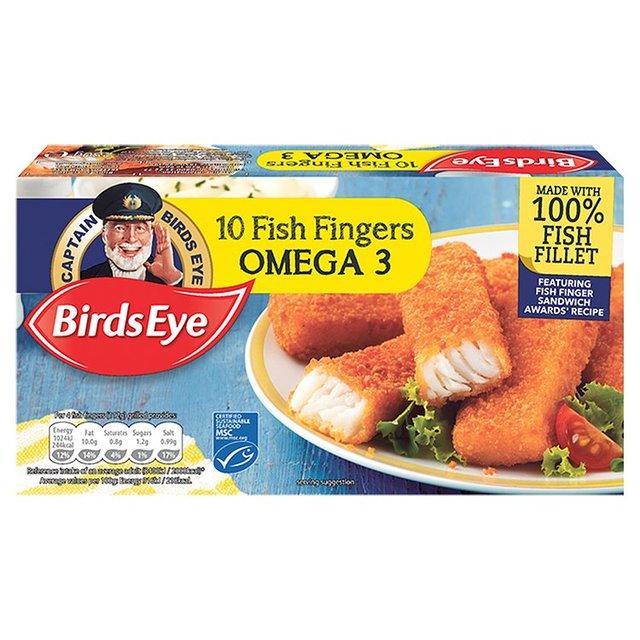 Birds Eye 10 Omega 3 Fish Fingers 280g £1 @ Morrisons