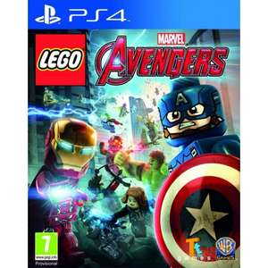 LEGO Marvel Avengers (PS4) £9.99 Delivered @ The Game Collection