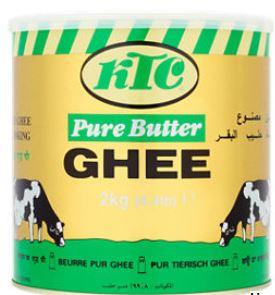 KTC Pure Butter Ghee 2KG Instore Asda £12.99