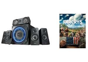 Trust Gaming GXT 658 Speakers + Far Cry 5 Standard Edition (Uplay) £99.99 Delivered @ Amazon