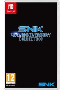 SNK 40th Anniversary Collection (Nintendo Switch) £29.85 Delivered (Preorder) @ Base