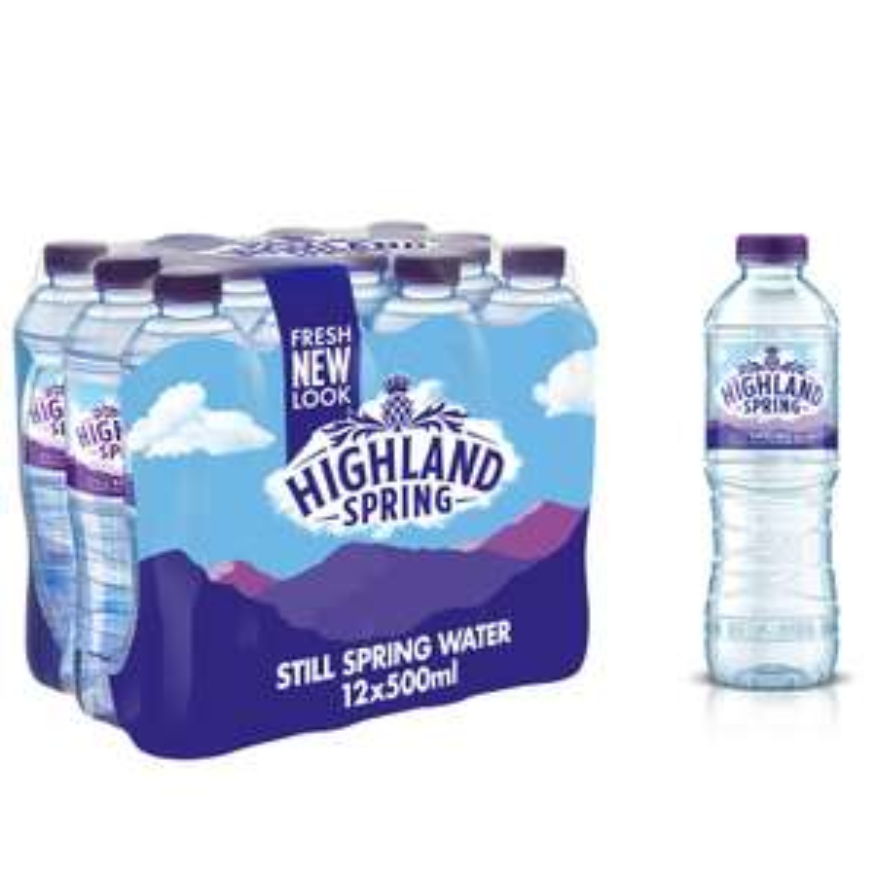 Highland Spring Still Spring Water 12 x 500ml £1.50 @ BP Garage - E Lancashire Rd, Astley, Manchester