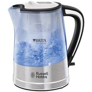 Russell Hobbs Brita Purity Kettle Save 1/3: Was £30.00 Now £19.99 @ Sainsbury's