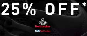 25% off at Footlocker