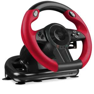 Speedlink Trailblazer Vibration Effect Racing Wheel with gear shifter and pedals for Microsoft Xbox One/PC- Game instore clearance- £34.75